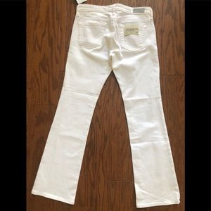 Ag Adriano Goldschmied Jeans - AG  Angelina petite bootcut sz 27 jeans white